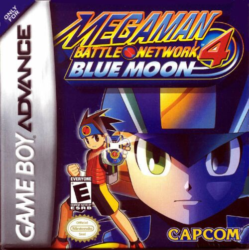 Mega Man Battle Network Blue Moon Screenshot