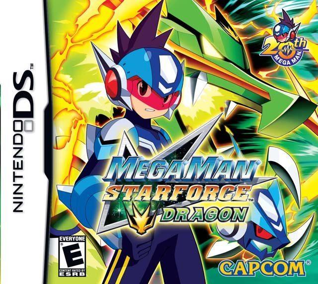 Mega Man Star Force Dragon NDS