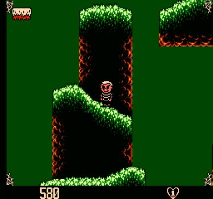 Addams Family The Pugsleys Scavenger Hunt Screenshot NES