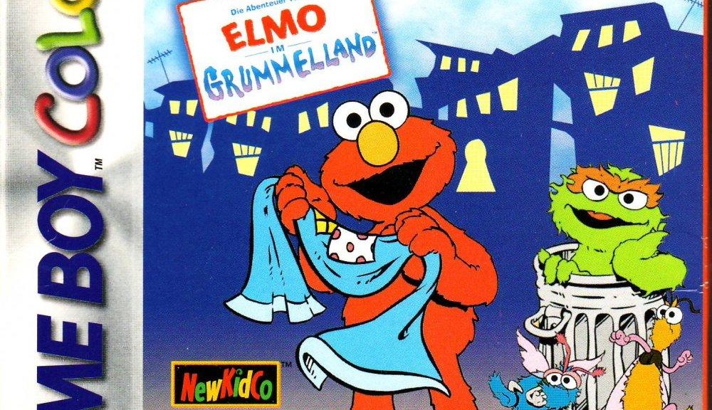 Elmo im Grummelland - Sesam Straße - GBC - Cover