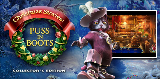Image result for christmas stories puss in boots collectors edition