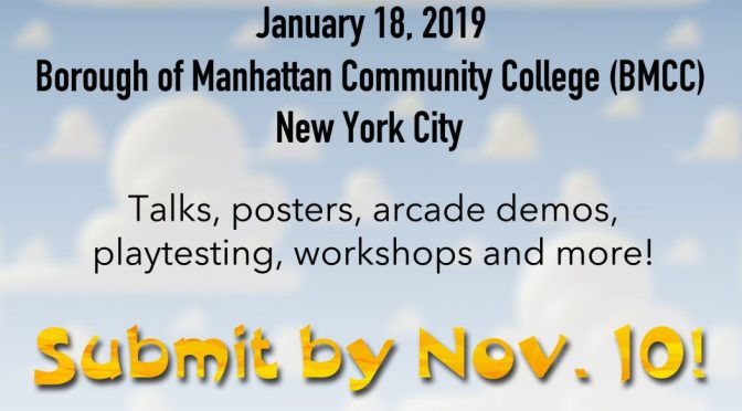 CUNY Games Conference 5.0: Call for Proposals