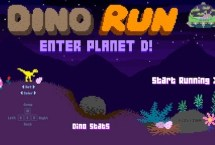 Dino Run (Enter Planet D)