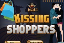 Kissing Shoppers