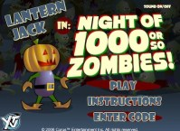 Lantern Jack in Night of 1000 or So Zombies