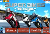 Super Bike Tracks Stars