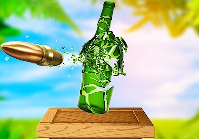 Real Bottle Shooter
