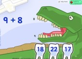 Dinosaur Dentist (Addition Game)