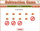 Cross Out Subtraction