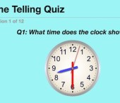 Stop the Clock (Time Telling Quiz)