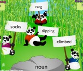 Panda Mayhem (Grammar Learning Tool)