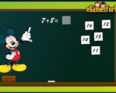 Micky Mouse Math Game