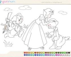 snow white paint