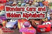 Wonder Cars: Hidden Alphabet