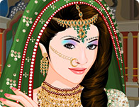 Wedding Dress India Indian Up Games For Bride And Groom