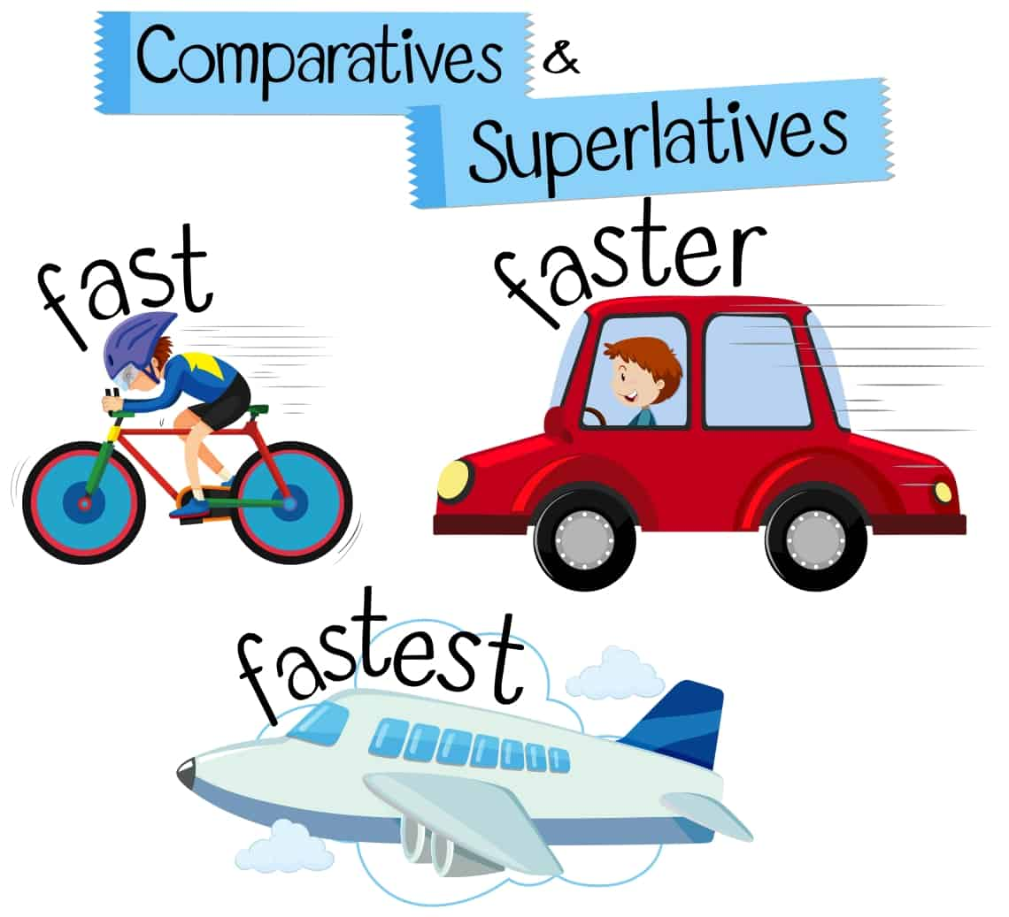 5 Fun Activities To Teach Comparative And Superlative