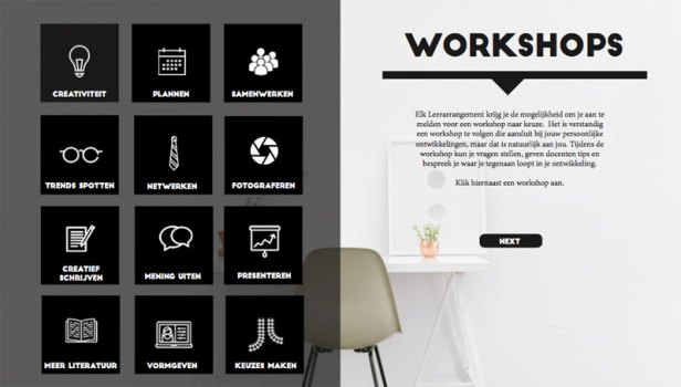 BUCKETLIST-workshops