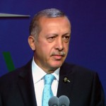 Turkey's President Recep Erdogan speaks at Istanbul 2020 final bid presentation in Buenos Aires (GamesBids Photo)