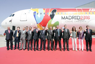 "Madrid 2016 To Fly ""Olympic Plane"" To IOC Meeting"