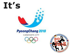 Third-time lucky:  PyeongChang Wins 2018 Olympic Bid