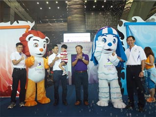 Singapore 2010 Mascots Unveiled