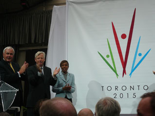 Toronto 2015 Pan American Games Bid Officially Launched