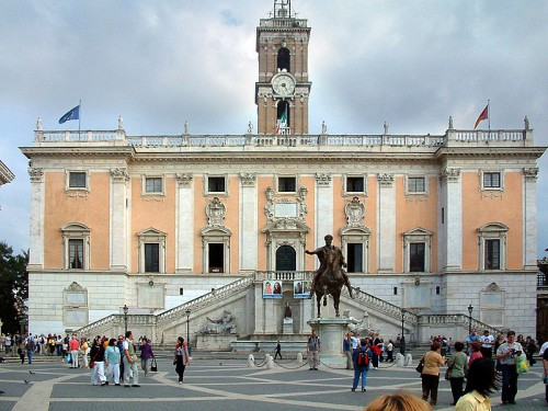 Rome City Hall (Photo: Radomil)