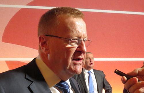 IOC Member John Coates at 127th IOC Session December 8, 2014 (GB Photo)