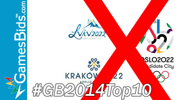 Top Olympic Bid Stories of 2014: #3 – Four European Cities Abandon 2022 Olympic Bids