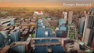 Boston 2024 Olympic Boulevard Depiction (Source: Boston 2024)