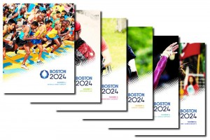 Boston's 2024 Six-Volume Bid Book Set Submitted to USOC