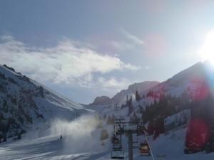 The historic Soviet-Era Shymbulak Ski Resort will  be removed from the Almaty 2022 plans (GamesBids Photo)