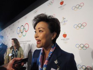 Yang Lan, Deputy Director of the Project Management and Legal Affairs Department for Beijing 2022 (GamesBids Photo)