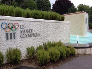 Olympic Museum in Lausanne, Switzerland (GB Photo)