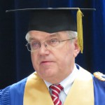 IOC President Bach get emotional at University of Montreal as he receives honorary doctorate (GamesBids Photo)