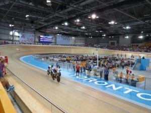 Canada has enjoyed success at the Cisco Milton Velodrome (GamesBids Photo)