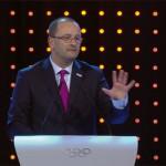 Lausanne 2020 Bid President and IOC Member Patrick Baumann presents to IOC