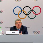 IOC President Thomas Bach speaks at press briefing in Kuala Lumpur, Malaysia August 3, 2015 (GamesBids Photo)