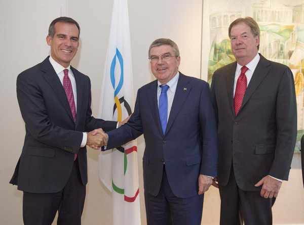 Both Paris and LA Reject IOC's 2024 Olympic Bid Consolation Plan