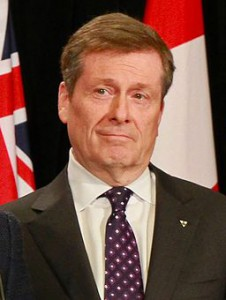 Toronto Mayor John Tory