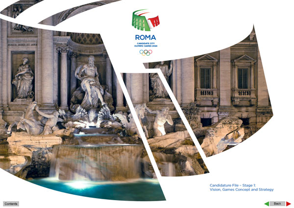 Rome 2024 Bid Book - Phase 1 (Click to download)
