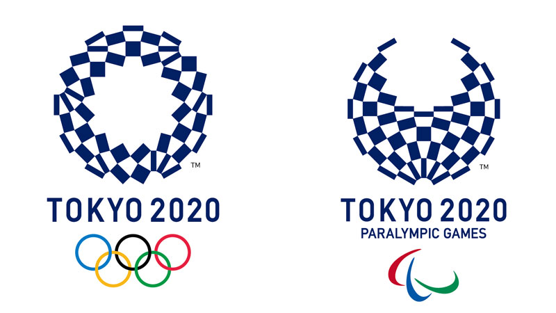 """Final """"Chequered"""" Tokyo 2020 Olympic and Paralympic Logos Launched"""