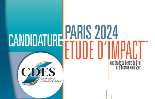 Economic Impact Study reveals that Paris 2024 could generate €10.7bn (Click to read French report)
