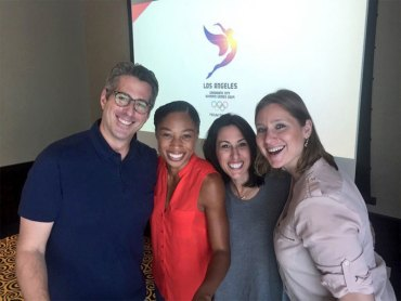 "America Needs The LA 2024 Games ""More Than Ever"" Olympic Champ Claims At Key Presentation"