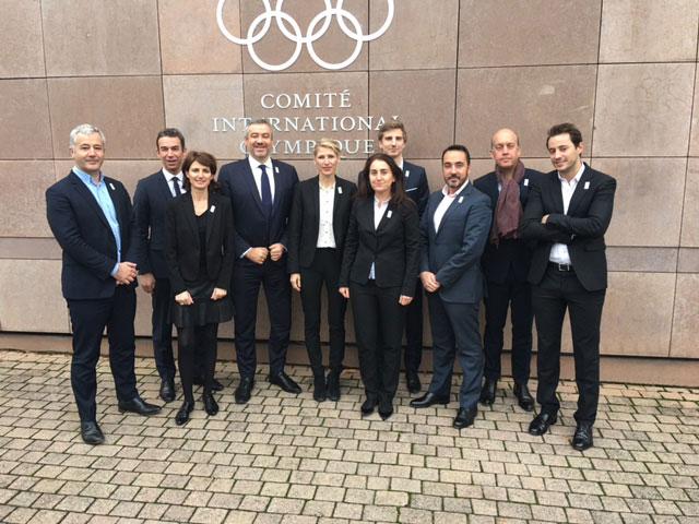 Paris 2024 delegation attends bid city workshop in Lausanne (Paris 2024 Photo)