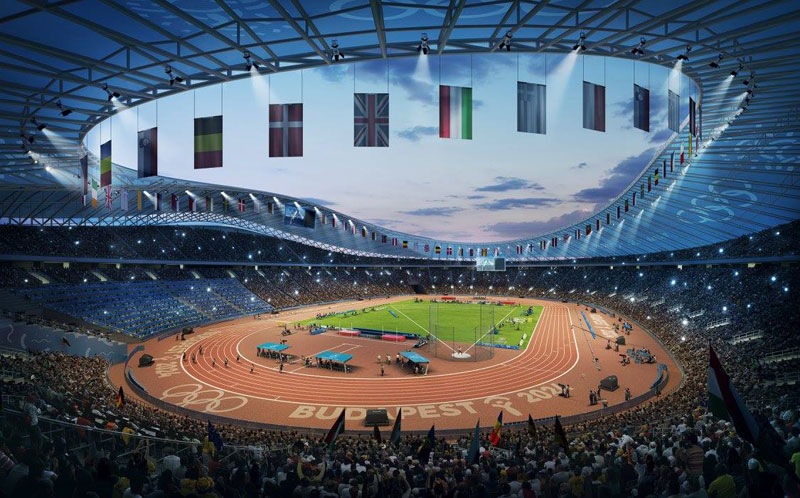 Budapest 2024 Showcases Images Of Proposed Olympic Park Cluster