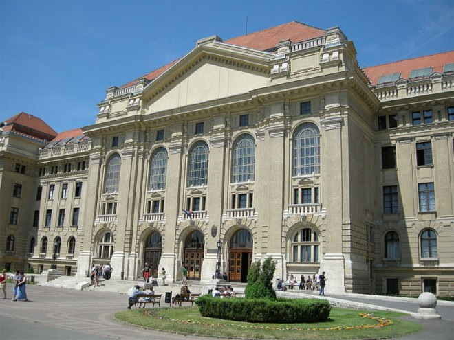 Debrecen University in Hungary (Wikipedia Photo)