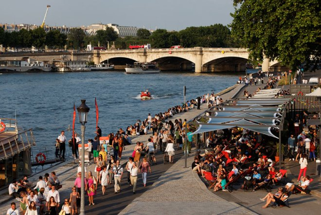 Paris plans to get swimmers back into the River Seine that runs through the city and could be a key Olympic venue.