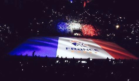 Opening of 2017 IHF Handball Men's World Championship in Paris (Paris 2024 Photo)