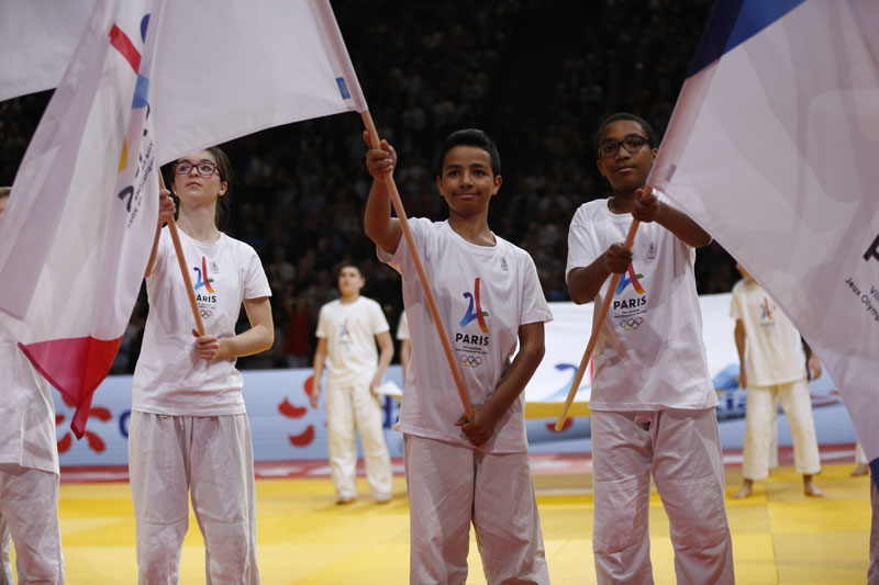 Paris 2024 Uses Judo Grand Slam Event To Promote Bid On International Stage